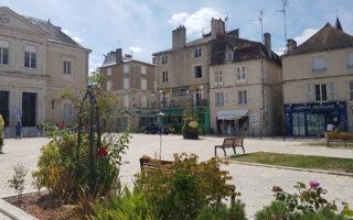 Photo centre-ville Montmorillon